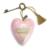 Best Daughter Art Heart - 1003480053