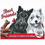 Best Friends Magnet  - 14243