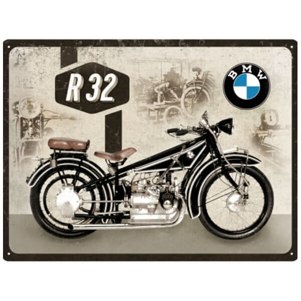 BMW - Motorcycle R32 Metal Pano