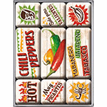 Chili Peppers Magnet Set  - 83067