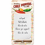 Chili Peppers Magnetli Not  Defteri - 84035