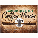 Coffee House Magnet  - 14284