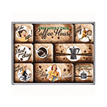 Coffee House Magnet Set  - 83058