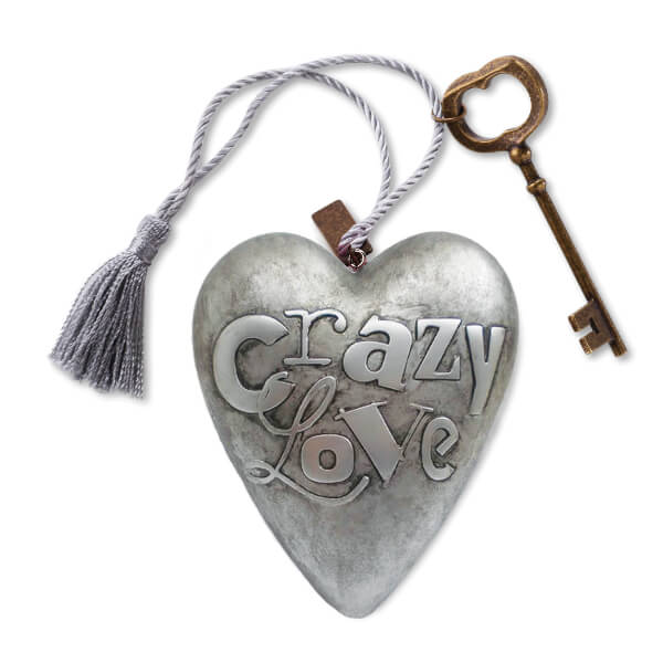 Crazy Love Art Heart