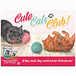 Cute Cats Club Magnet  - 14275