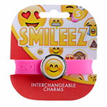 Emoji Smiling Face Eyes Jumbo 1 Bileklik - 9243