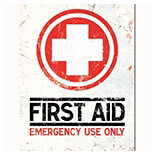 First Aid Magnet  - 14267