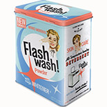 Flash Wash Metal Kutu