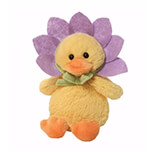 Flower Duck Sound Toy Peluş - 4056262