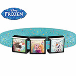 Frozen Nordic 3 Bileklik #2 Blue Simli - Medium - 8819