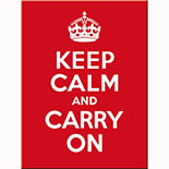 Keep Calm Magnet  - 14291