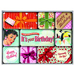 Say It Happy Birthday Magnet Set  - 83052