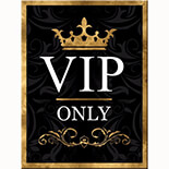 VIP Only Magnet  - 14304