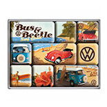 VW Beach Magnet Set  - 83053