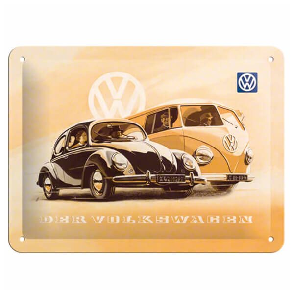 VW Beetle & Bulli Metal Pano