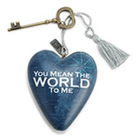 World To Me Art Heart - 1003480050